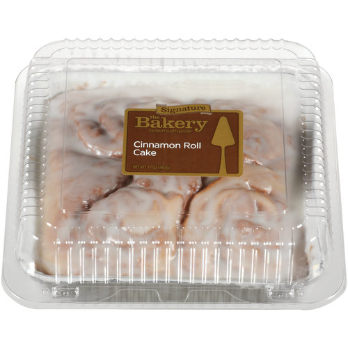 The Bakery at Walmart Cinnamon Roll Cake, 17 oz
