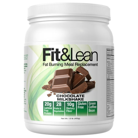 MHP Fit & Lean Meal Replacement, Chocolate Milkshake, 1 -