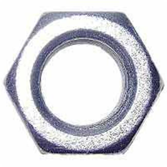 Midwest Fastener 3672 Nut Hex Zinc Coarse Nc .37 - 16 In. - image 1 of 1