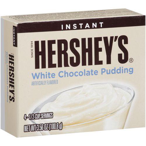 Hershey's Instant White Chocolate Pudding Mix, 3.56 oz by Jel Sert