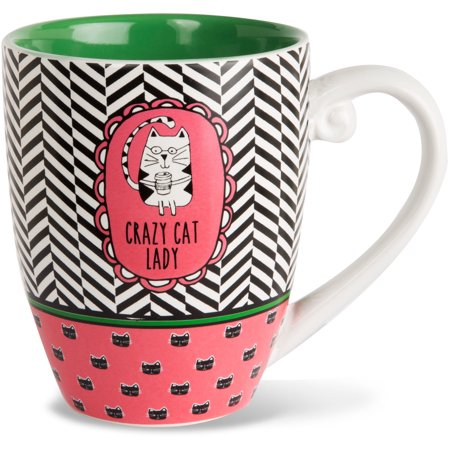 Its Cats   Dogs   Crazy Cat Lady High Quality Cermaic Extra Large Coffee Mug Tea Cup 20 Oz