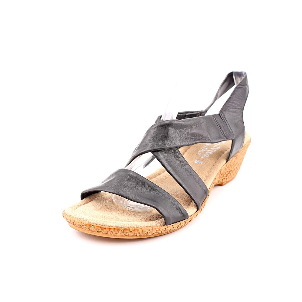 Bella Vita Ciao N S Open Toe Leather Wedge Sandal by Bella Vita