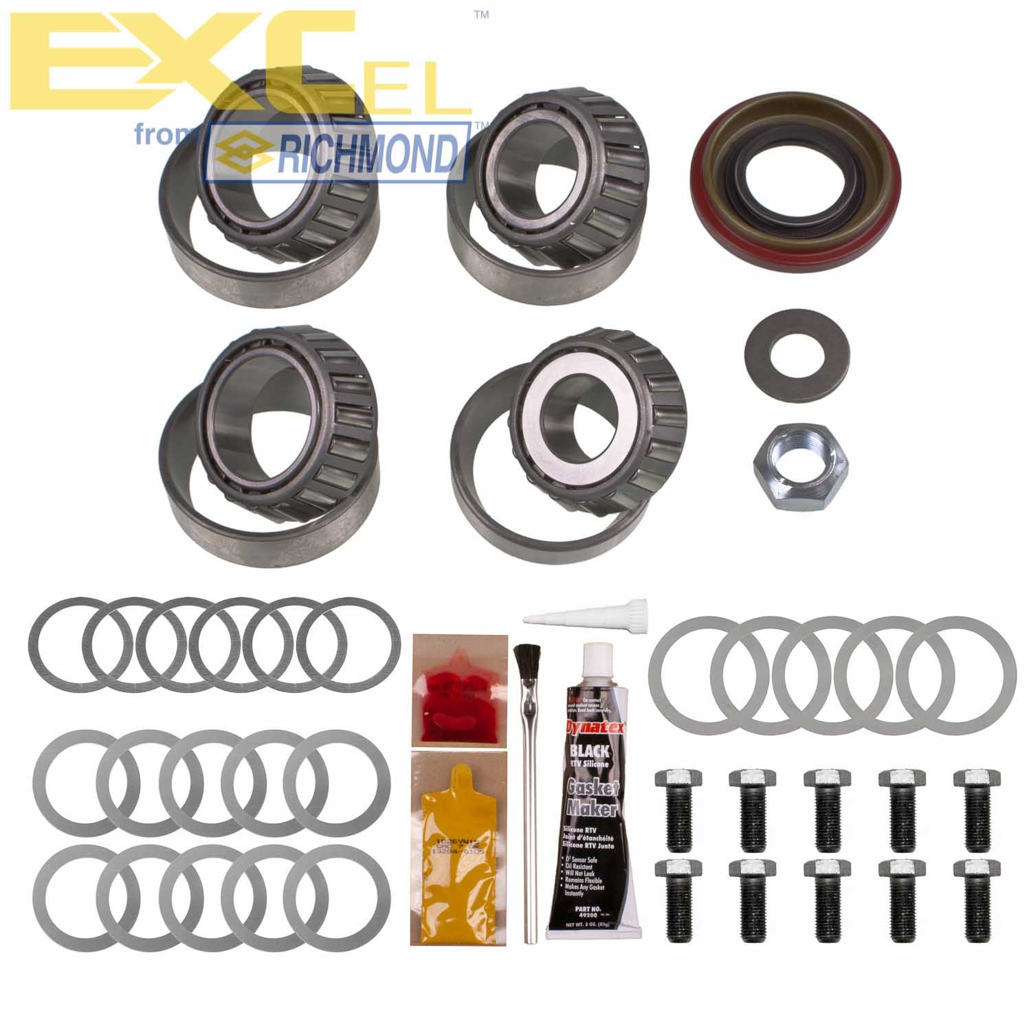 EXCEL from Richmond XL-1033-1 Full Differential Bearing Kit