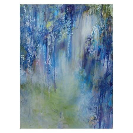 West of the Wind Rhapsody In Blue Outdoor Canvas Wall Art - Walmart.com