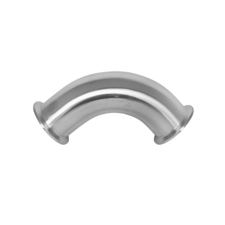 2 5 90 Degree 316 Stainless Steel Elbow Tri Clamp Ferrule Fitting