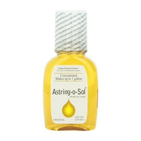 Astring-O-Sol Concentrated Mouthwash, Original - 8 Oz
