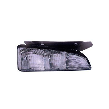 Replacement Passenger Side Headlight For 92 99 Pontiac Bonneville 16513516