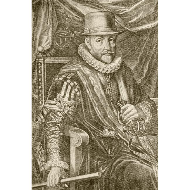 Posterazzi DPI1863063LARGE William I Prince of Orange Born 1533 Died 1584 Aka William the Silent. From Poster Print, 24 x 36 - image 1 of 1
