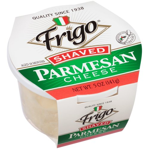 Shaved parmesan cheese what necessary