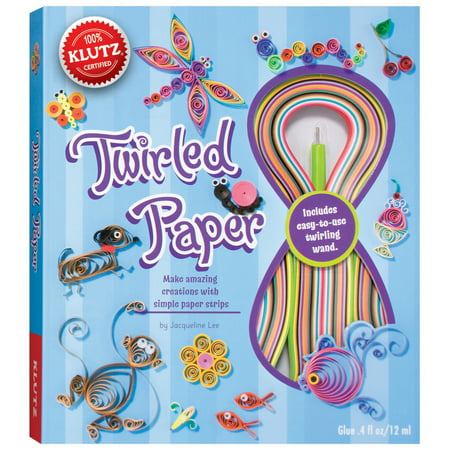 Twirled Paper Kit - Twirled Paper Book Kit