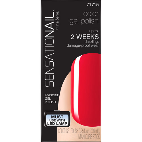 SensatioNail Color Gel Polish, 71715 Spoiled Diva, 0.25 fl oz