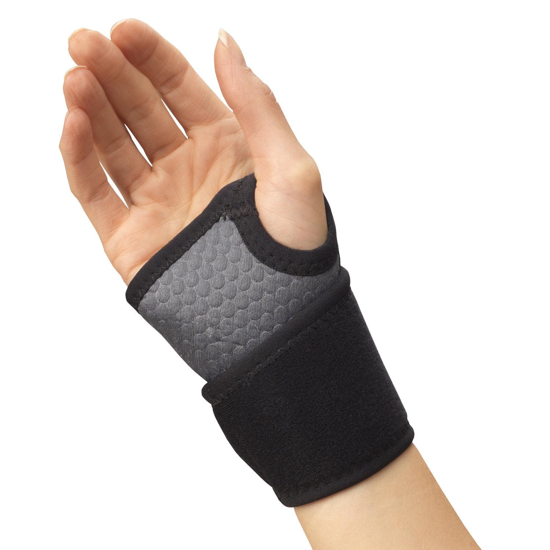 Champion Airmesh Wrist Wrap Support, Grey, Universal