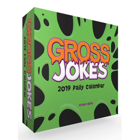 Gross Jokes 2019 Daily Calendar (Other) - Halloween Jokes And Riddles Adults
