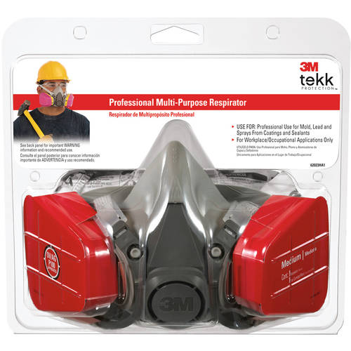 3M TEKK Protection Household Multi-Purpose Respirator, 62023HA1-C