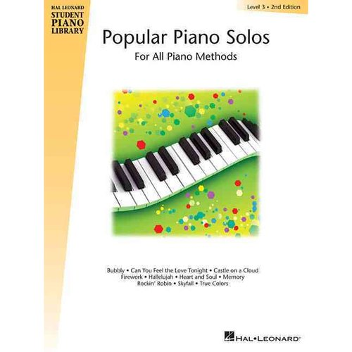 Popular Piano Solos Level 3: For All Piano Methods