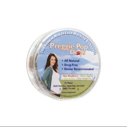 Three Lollies Preggie Pop Drops Container - 21 Ct, 4 Pack