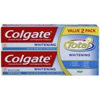 Colgate Total Anticavity Fluoride & Antigingivitis Whitening Gel Toothpaste, 6 oz