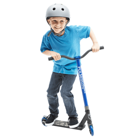Pulse Performance Burner Pro Freestyle Scooter, Blue