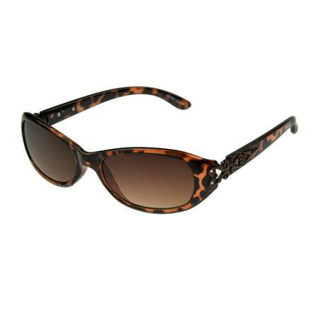 Foster Grant Women's Tort Cat-Eye Sunglasses (Tort Sunglasses)