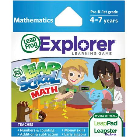 LeapFrog Explorer Learning Game: LeapSchool Math Deal