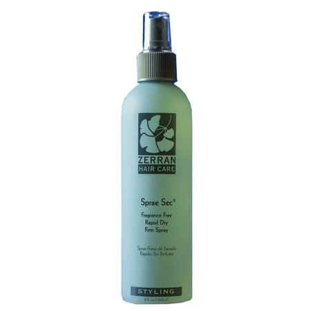 Zerran Sprae Sec - Fragrance-Free Rapid Dry Firm Spray (Size : 32 oz)