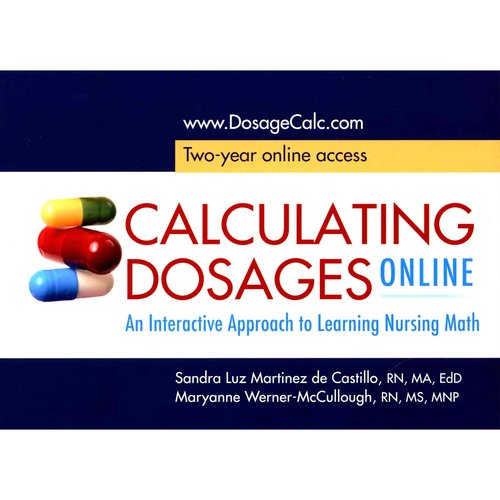 Calculating Dosages Online : Access Card