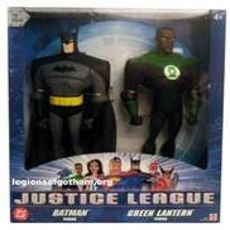 Justice League Batman & Green Lantern 10 2 Pack by Mattel by
