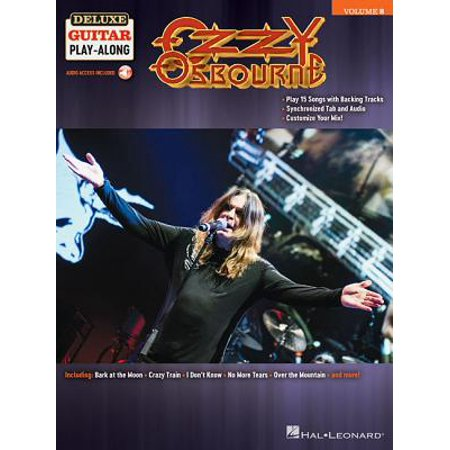 Ozzy Osbourne : Deluxe Guitar Play-Along Volume 8 ()