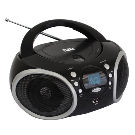 Portable MP3/CD Player with AM/FM Analog Radio & USB Input