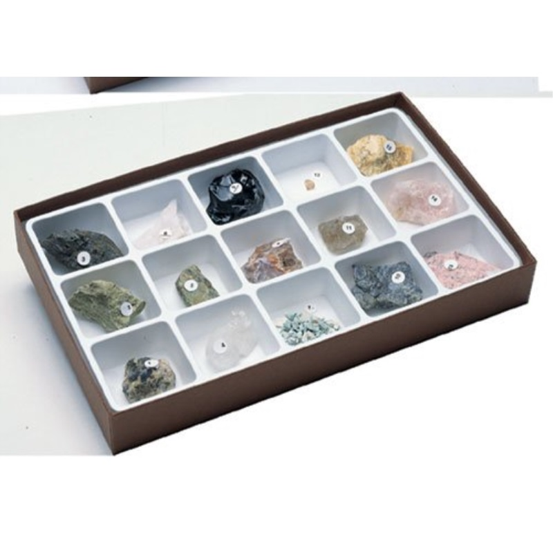 hubbard scientific 2310 gem minerals collection