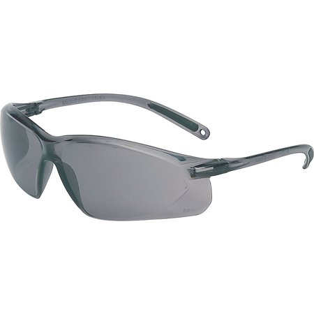 North® A700 Series Safety Glasses, Gray, Anti-scratch Lens