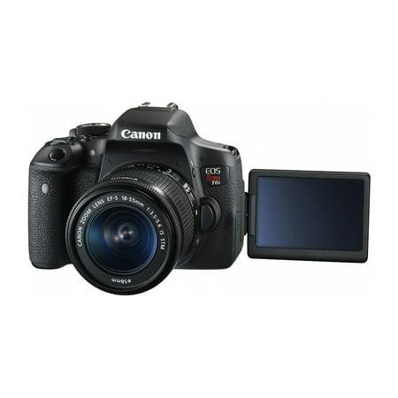 Ritz Camera Canon EOS Rebel T6i 24 2 MP SLR Camera Bundle