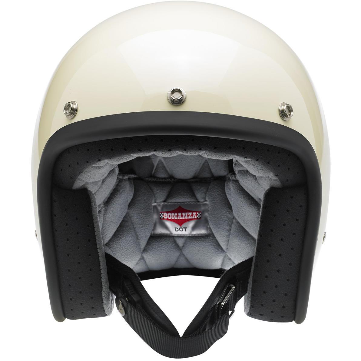 Biltwell BONANZA Motorcycle Helmet 3/4 Open Face XS-2XL FREE Expedited Shipping