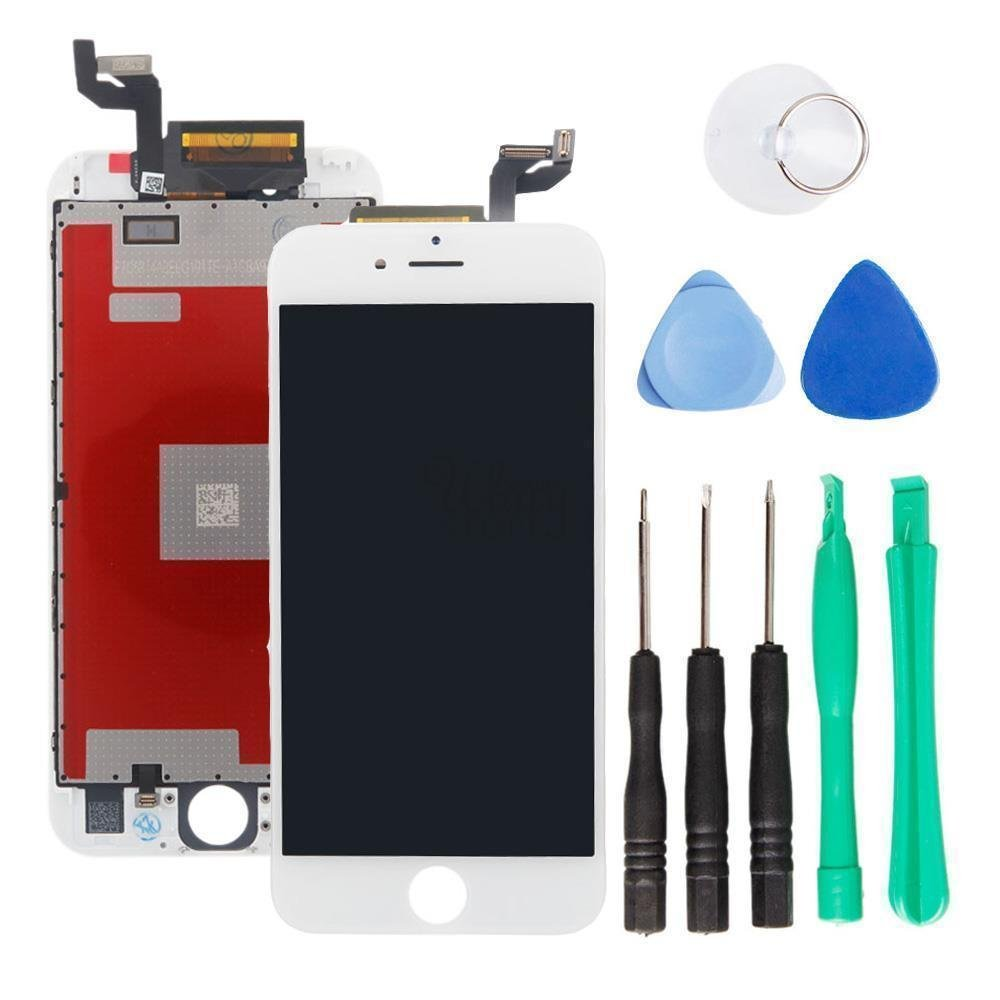 iPhone 6s LCD Display Screen Replacement Digitizer Assembly touchscreen with 3D touch in white