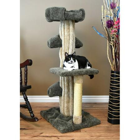 Prestige Cat Trees 51 in. Unique Cat Play Tree