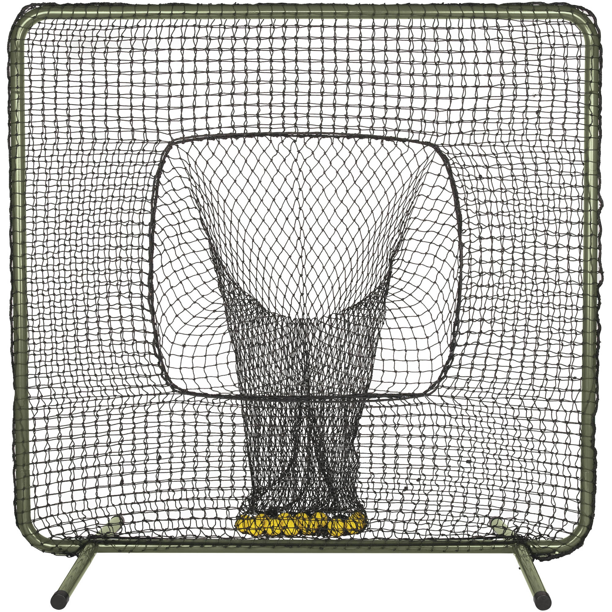 ATEC Protective Batting Practice Screen with Ball Sock by Wilson