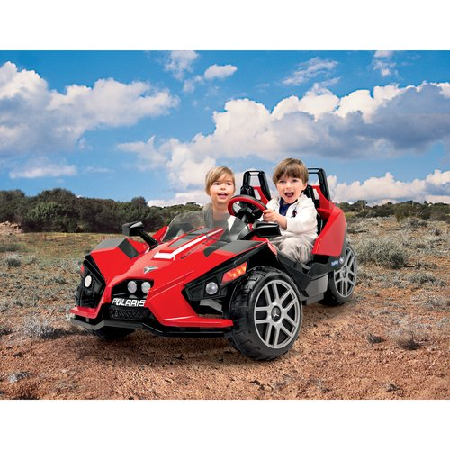 Peg Perego Polaris Slingshot Battery-Operated Ride-On by Generic