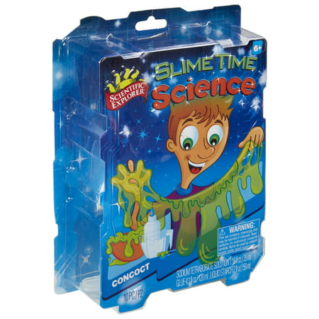 Scientific Explorer Slime Time Science - Halloween Science Experiments Slime