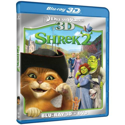 Shrek 2 (3D Blu-Ray + DVD) (Widescreen)