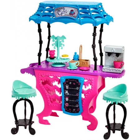 Monster High Fright Roast Coffee Playset - Monster High Walmart