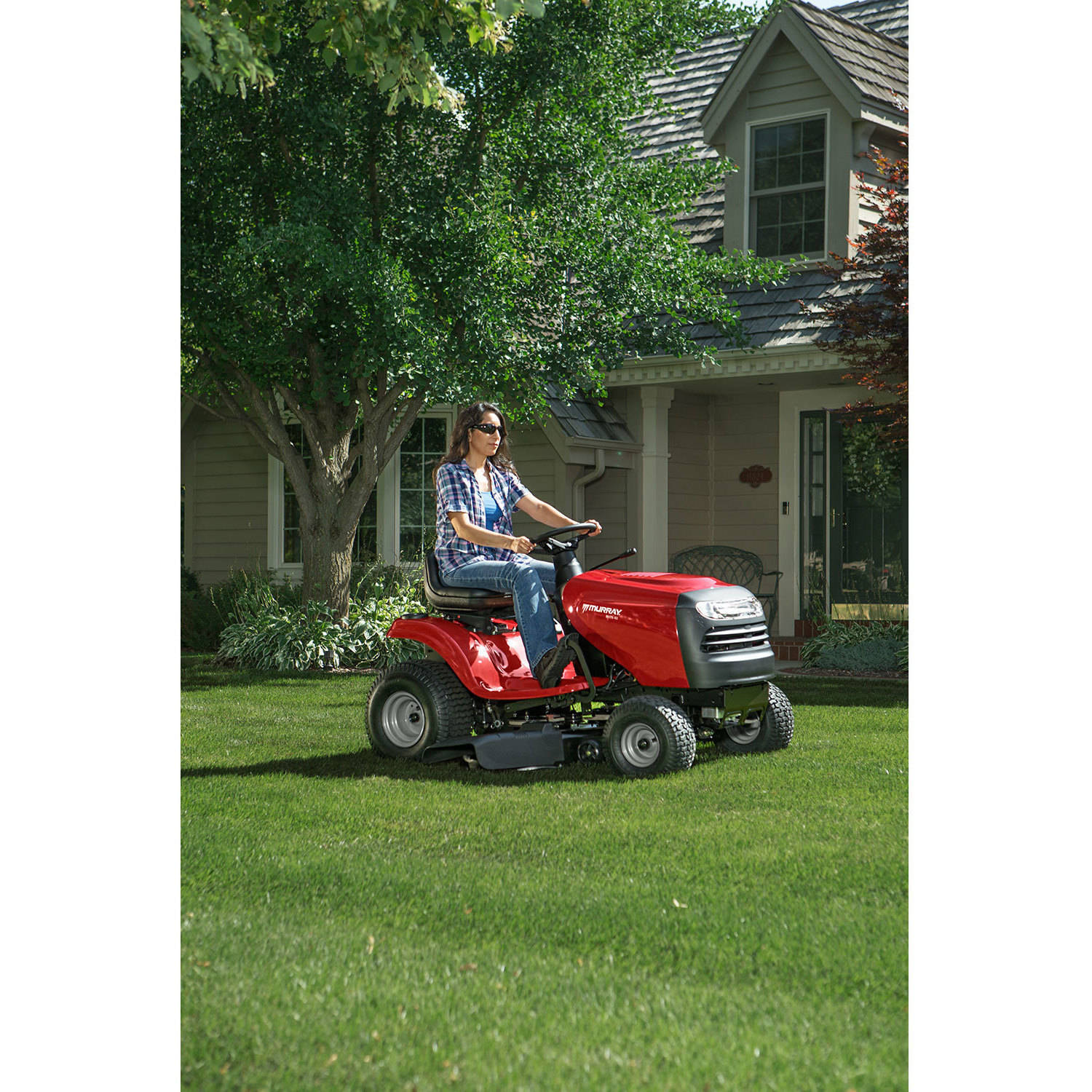 Murray 175 Hp Briggs Stratton 42 Riding Lawn Mower Have A 145 Horsepower And Engine That Was