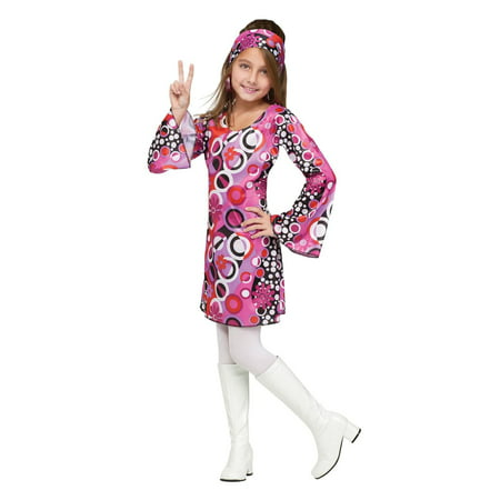 Feelin' Groovy Child Costume - Large (12-14) (Feelin Groovy Accessory)