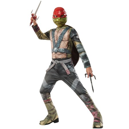 TMNT 2 Raphael Child Costume - Kids Teenage Mutant Ninja Turtle Costume
