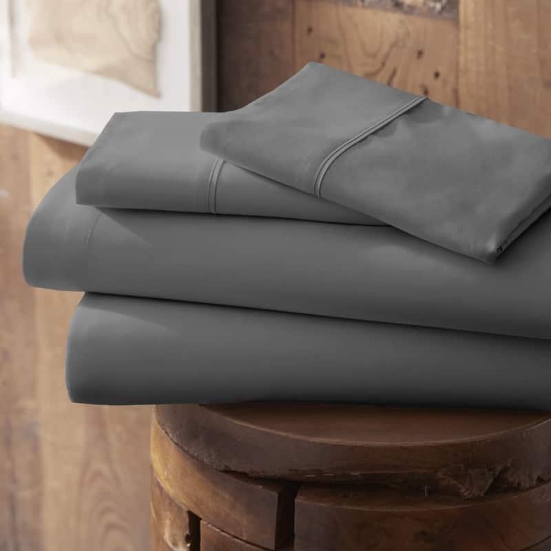 Merit Linens Modern Luxury Soft 4 Piece Deep Pocket Bed Sheet Set