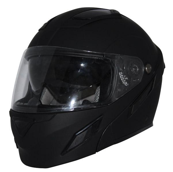 Zox Unisex Adult  Brigade SVS Matte Black Modular Helmet Z88-30719