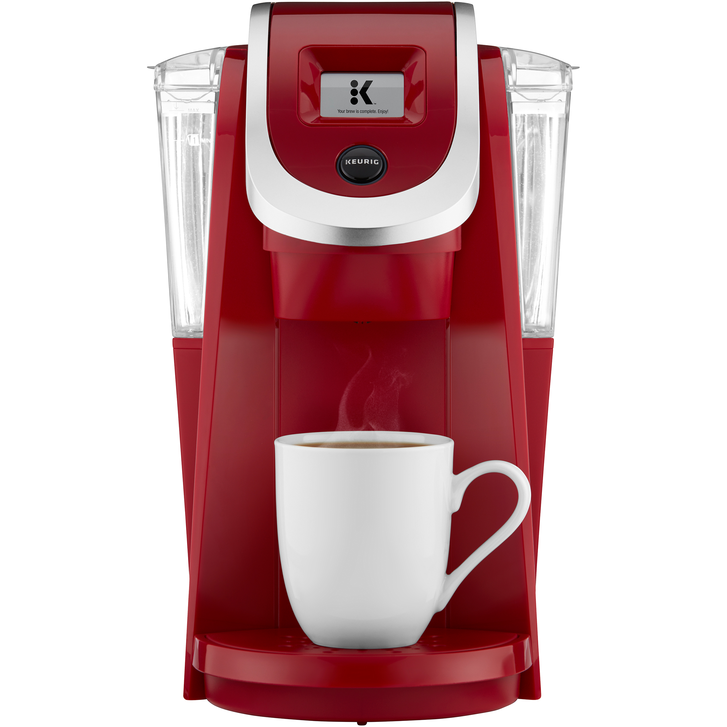 Red Keurig Coffee Maker Pod Brew Strength Taste Control Kitchen Small New eBay