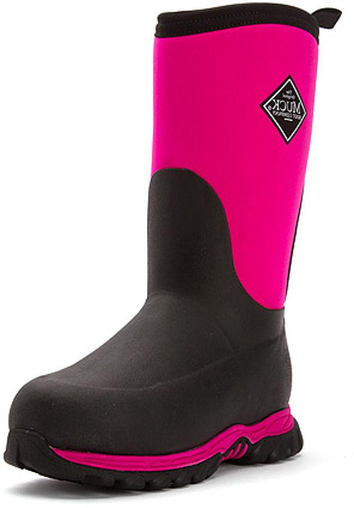Muck Boots Girls Kids Rugged II Performance Sport Winter Pink RG2-400