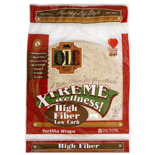 Ole Mexican Xtreme Wellness High Fiber L