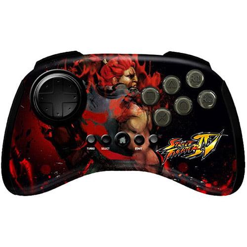 Mad Catz Street Fighter IV Akuma FightPad