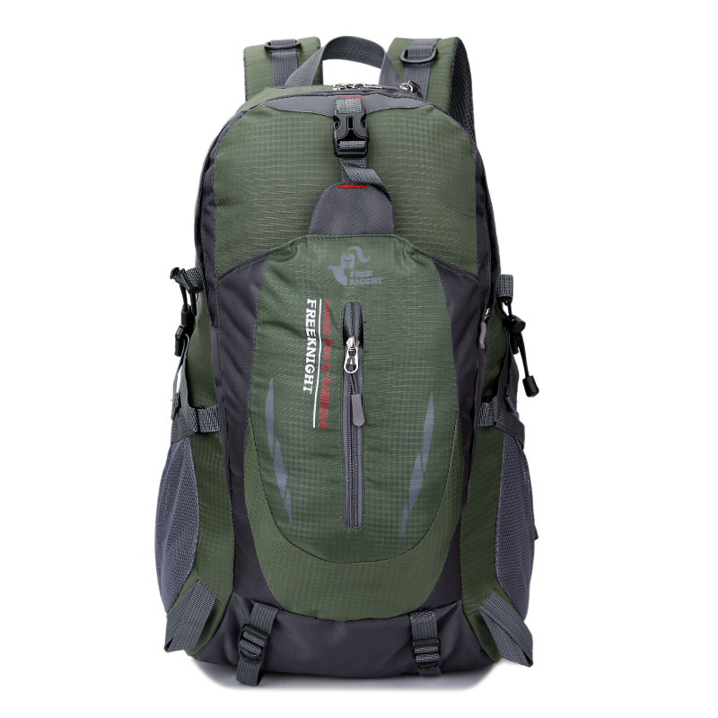Ktaxon Free Knight 8607 35L Outdoor Sports Travel Water Repellent Nylon Backpack Army Green